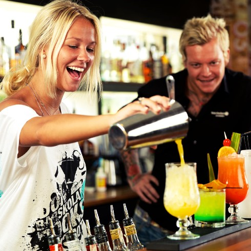 private mixology class
